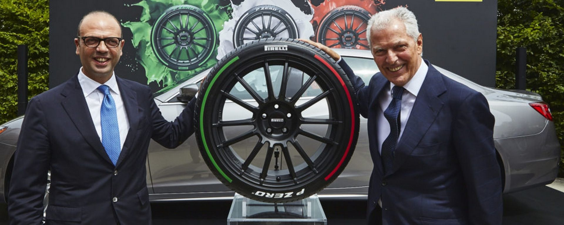 Pirelli Tricolore: le gomme per i diplomatici italiani