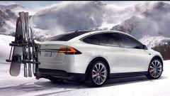 Pirelli: uno Scorpion Zero Asimmetrico per la Tesla Model X - Immagine: 1