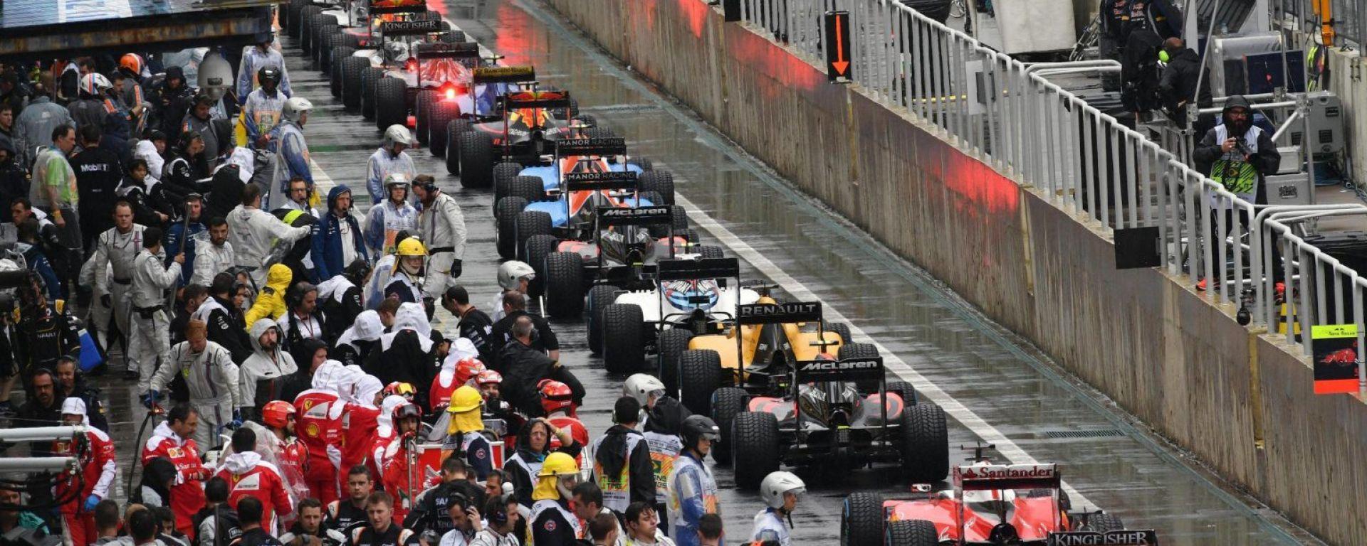 C'era una volta, una Formula Uno che correva sotto la pioggia...