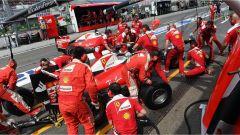 Pit Stop Ferrari - F1 GP Germania 2016