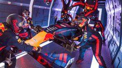 Pit Stop Zero-G Red Bull