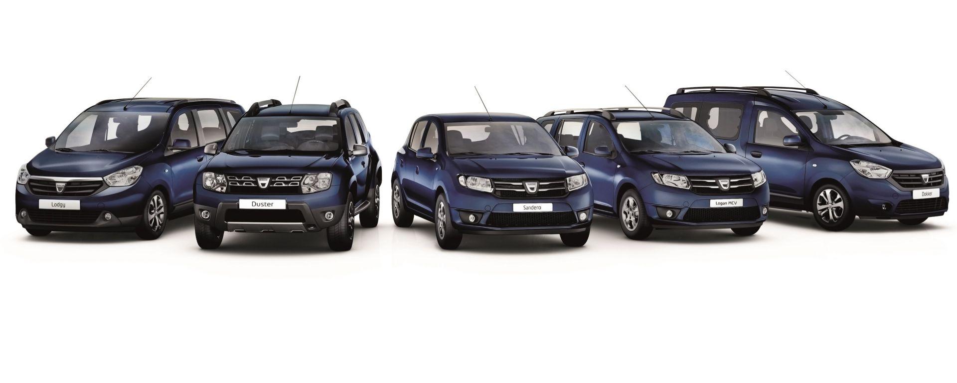 Più tecnologia e più stile: Dacia lancia la serie Family