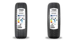 Pneumatici, ecco come si presentano le etichette su pneumatici Nokian