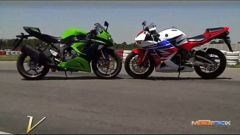 Honda CBR 600 RR vs Kawasaki Ninja ZX-6R 636 - Immagine: 10