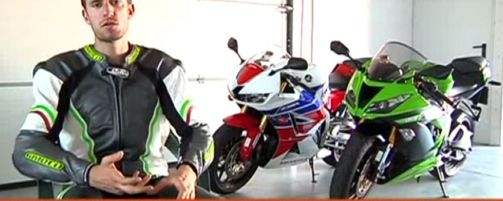 Honda CBR 600 RR vs Kawasaki Ninja ZX-6R 636