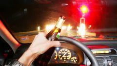 Poche le multe per guida in stato d'ebrezza secondo UNC