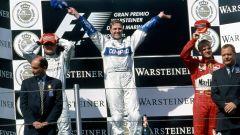 Podio del GP di San Marino 2001