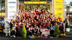 Podio finale Rally di Spagna 2019