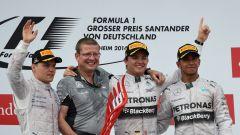 Podio GP Germania 2014 - Circuito Hockenheim