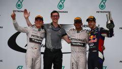 Podio GP Malesia 2014