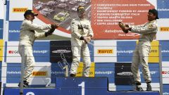 Podio MINI Challenge 2016, Circuito Vallelunga, gara 1