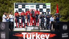 Podio Wrc - Rally di Turchia 2019