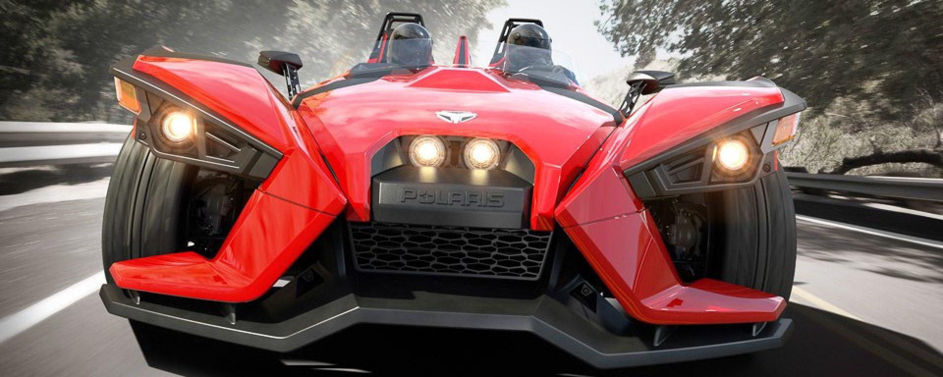 Tre ruote: Polaris Slingshot - MotorBox