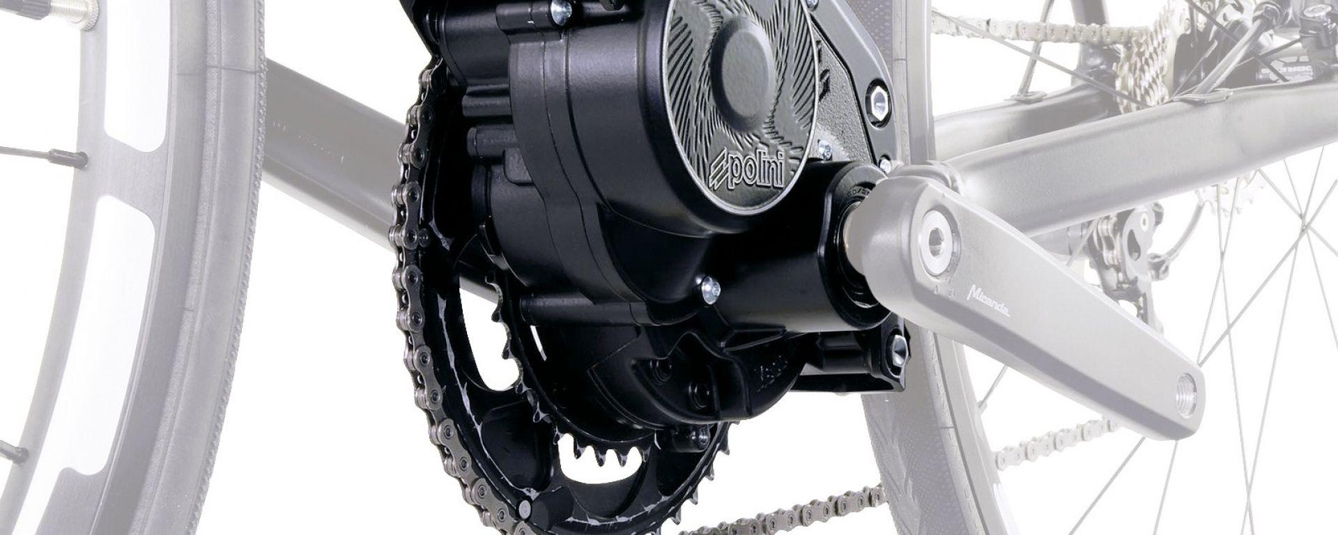 Polini EP-3, il motore elettrico per e-bike
