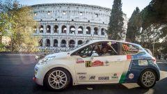 Pollara e Princiotto con la Peugeot R2 al Rally Roma Capitale