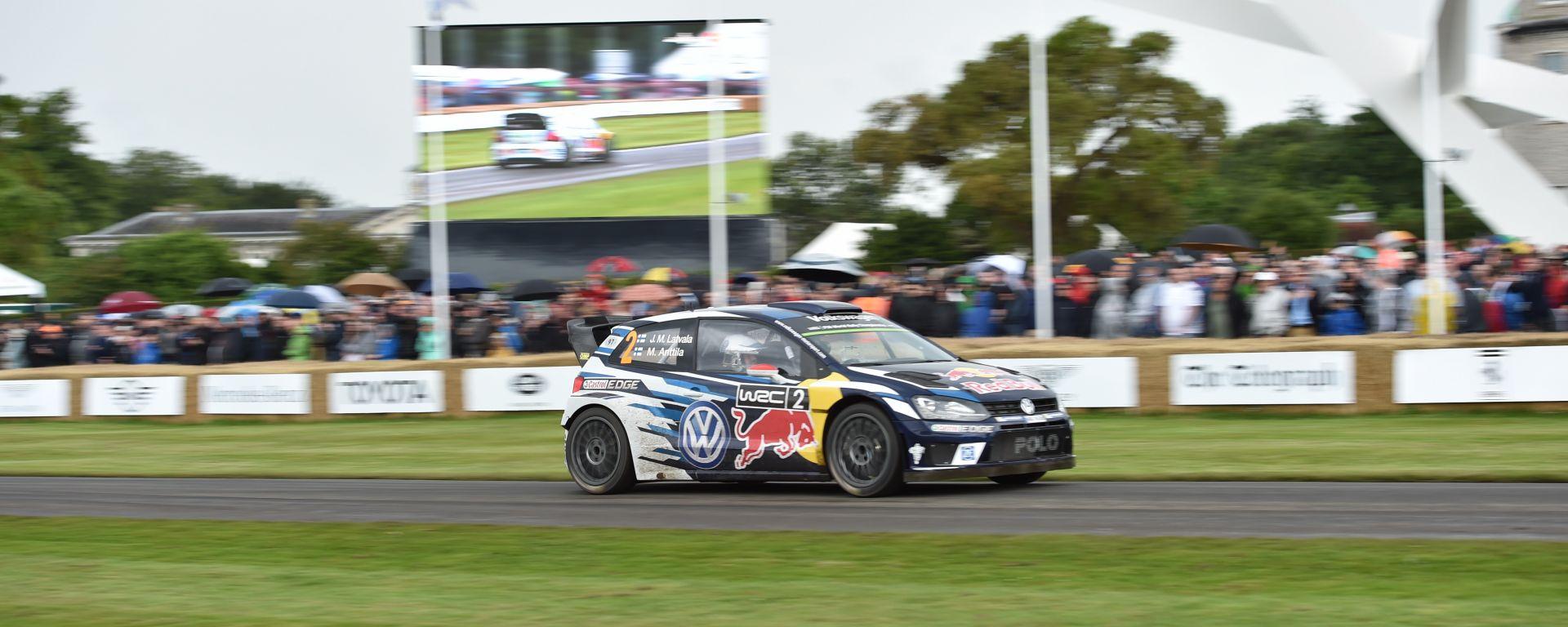 Polo R WRC at Goodwood Festival 2016