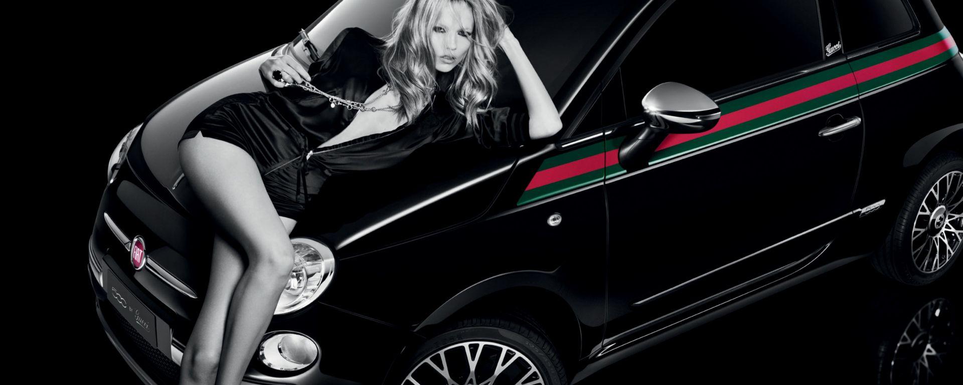 Natasha, l'arma in più della Fiat 500 by Gucci