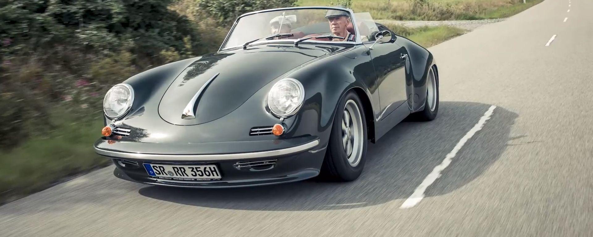 Porsche 356 3000 RR: al volante, Walter Rohrl