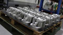 Porsche 356 by Radial Motion: cilindri pronti all'assemblaggio