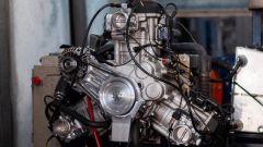 Porsche 356 by Radial Motion: il motore durante i collaudi al banco prove