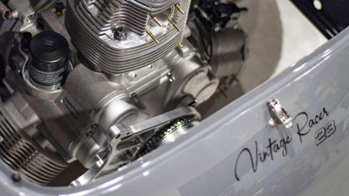 Porsche 356 by Radial Motion: il motore è di origine aeronautica