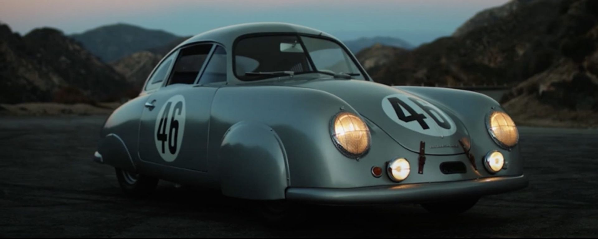 Porsche 356 SL: il 3/4 anteriore