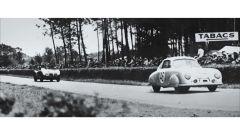 Porsche 356 SL numero 46 sul Circuit de la Sarthe
