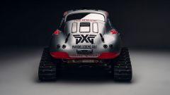 Porsche 356 Valkyrie Racing: sci e cingoli per guida al Polo Sud