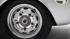 Porsche 550 Spyder, i cerchi