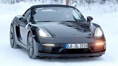 Porsche Boxster Spyder 2019: nuove foto spia al Nurburgring - Immagine: 8