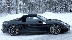 Porsche Boxster Spyder 2019: nuove foto spia al Nurburgring - Immagine: 10