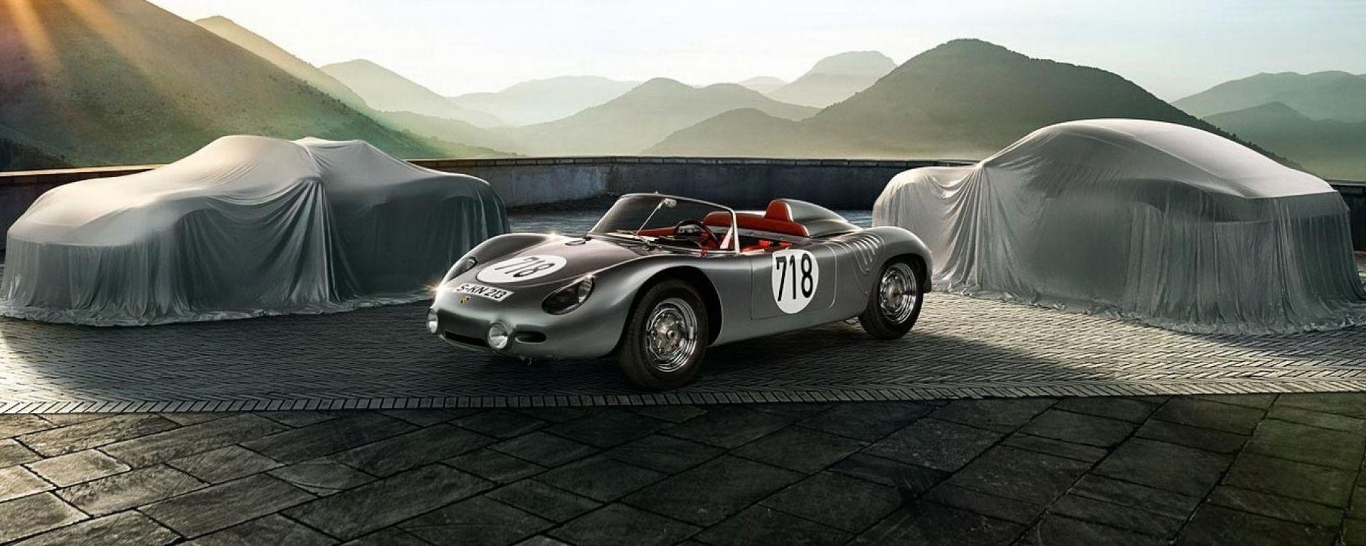 Porsche 718 Boxster e 718 Cayman: il video teaser
