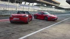 Porsche 718 Boxster GTS e 718 Cayman GTS