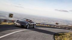 Porsche 718 Boxster in movimento
