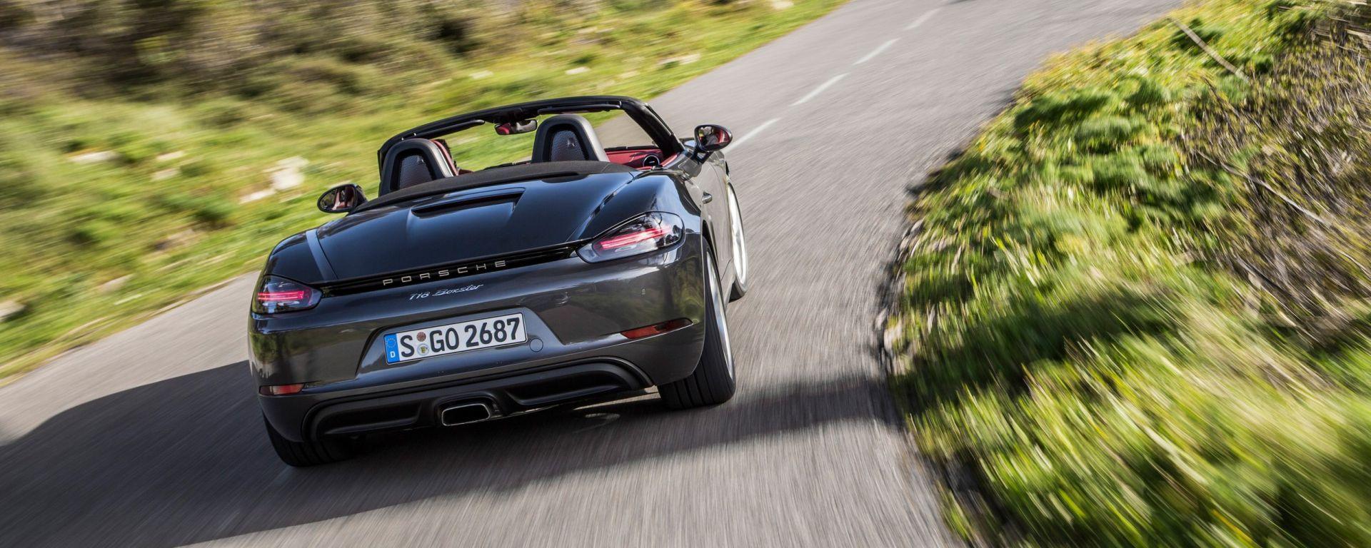 Porsche 718 Boxster: il video