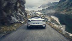 Porsche 718 Cayman GT4: vista posteriore