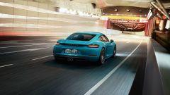 Porsche 718 Cayman: il posteriore