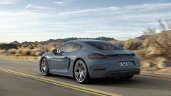 Porsche 718 Cayman: solo 4 cilindri turbo come la Boxster  - Immagine: 3