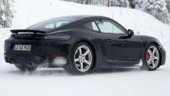 Porsche 718 GT4 Touring Package: le foto spia durante i test - Immagine: 4