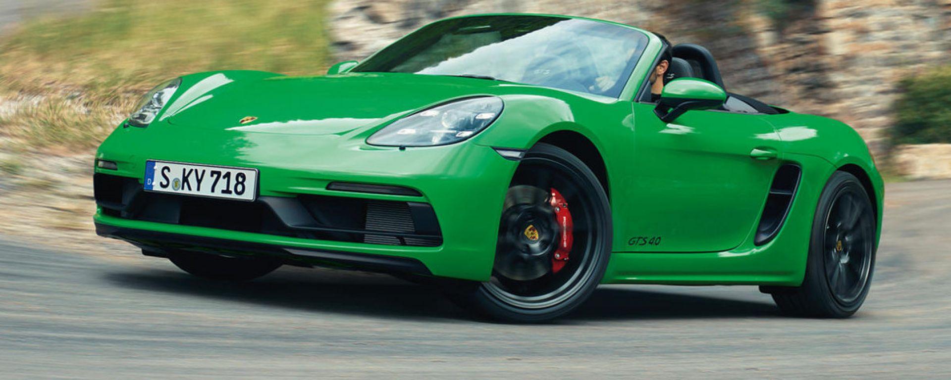 Porsche 718 GTS Boxster 4.0