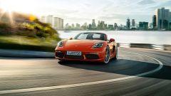 Porsche 718: il frontale