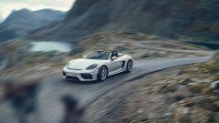 Porsche 718 Spyder: dettaglio anteriore