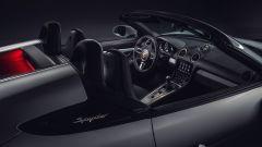 Porsche 718 Spyder: l'abitacolo