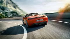 Porsche 718: vista posteriore