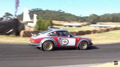 Porsche 911 3.0 SC Safari 1974: vista laterale