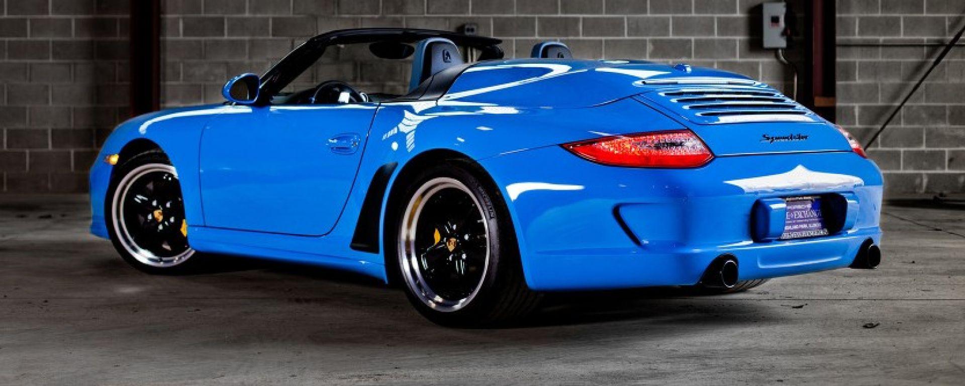 Porsche 911 Speedster Al Salone Di Francoforte 232 Attesa