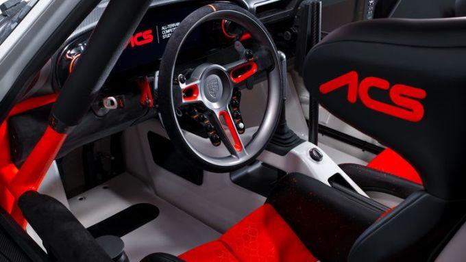 Porsche 911 ACS by Singer: l'abitacolo da corsa di questa 964 speciale