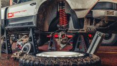 Porsche 911 ACS: doppi ammortizzatori e dischi freno in acciaio a 4 pistoncini