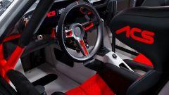 Porsche 911 ACS, interni: l'abitacolo da corsa di questa 964 modificata