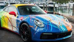 Porsche 911 by Rich B. Caliente: due settimane per la verniciatura